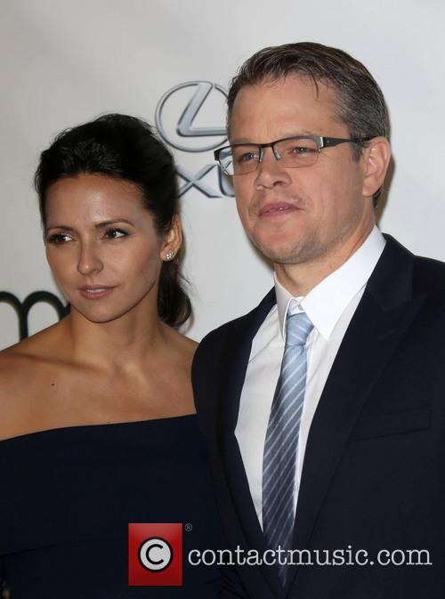 Luciana Damon and Matt Damon 17