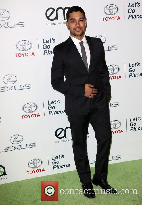 Wilmer Valderrama at the Environmental Media Awards in October 2013