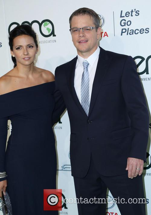 Luciana Damon and Matt Damon 2