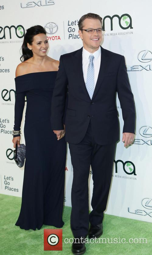 Luciana Damon and Matt Damon 3