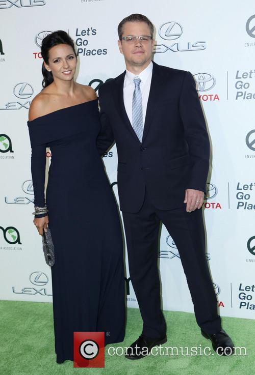 Luciana Damon and Matt Damon 4