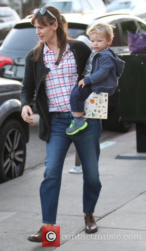 Jennifer Garner and Samuel Garner Affleck 6
