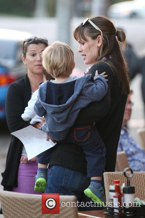 Jennifer Garner and Samuel Garner Affleck 9