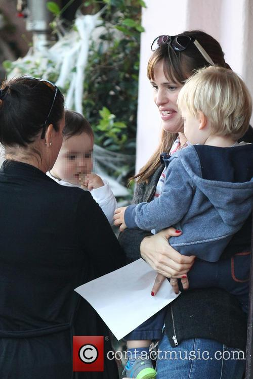 Jennifer Garner and Samuel Garner Affleck 10