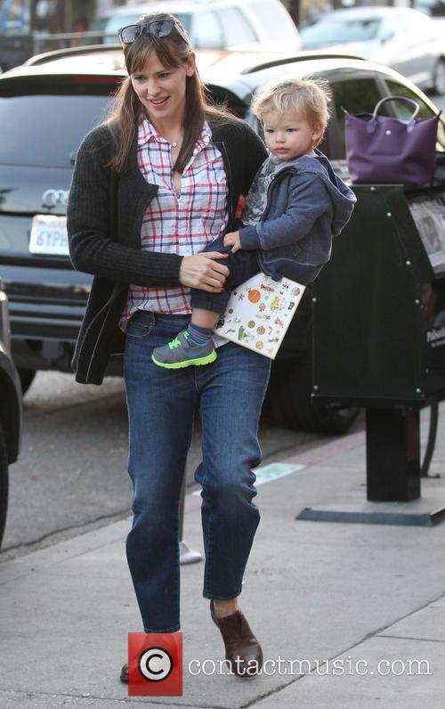 Jennifer Garner and Samuel Garner Affleck 12