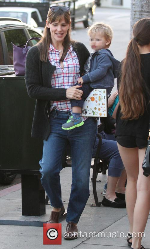 Jennifer Garner and Samuel Garner Affleck 14