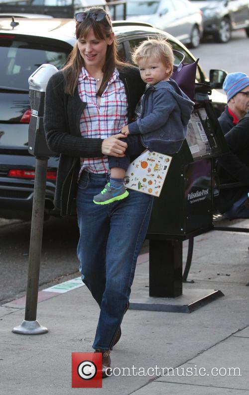 Jennifer Garner and Samuel Garner Affleck 15