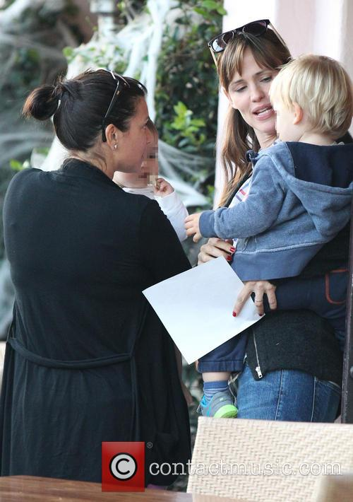 Jennifer Garner and Samuel Garner Affleck 22