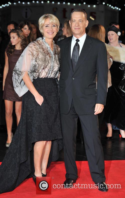 Emma Thompson and Tom Hanks 7