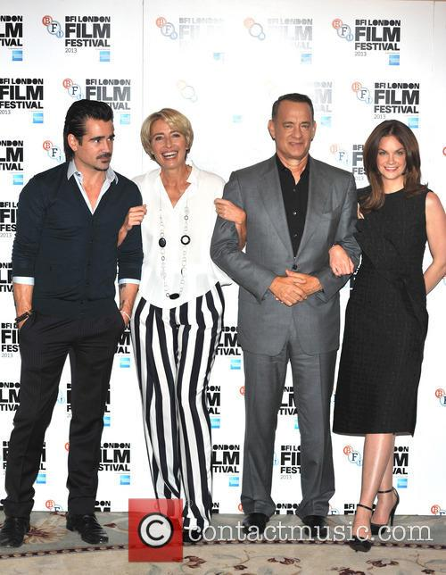 Colin Farrell, Emma Thompson, Tom Hanks and Ruth Wilson 3