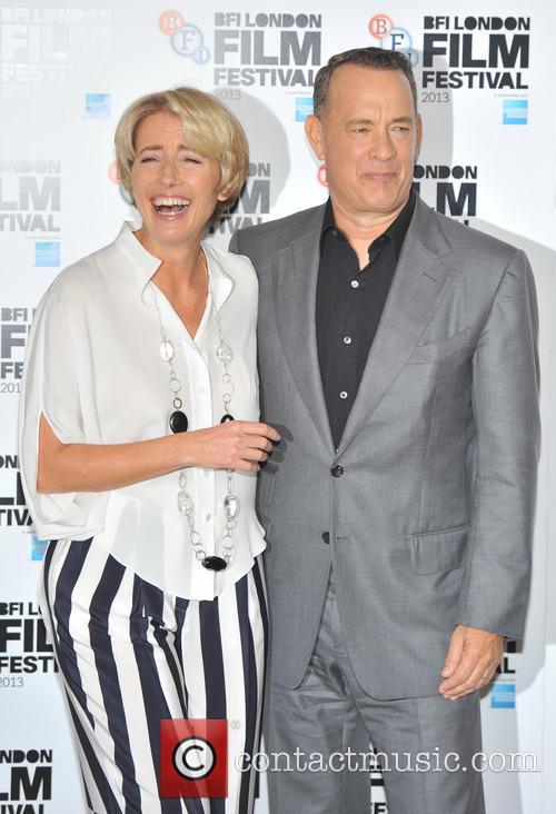 Emma Thompson and Tom Hanks 8