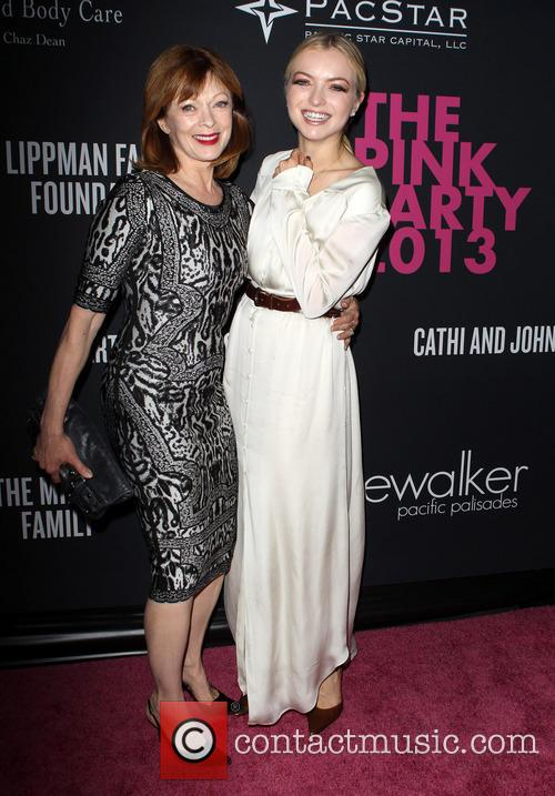 Frances Fisher and Francesca Eastwood 6