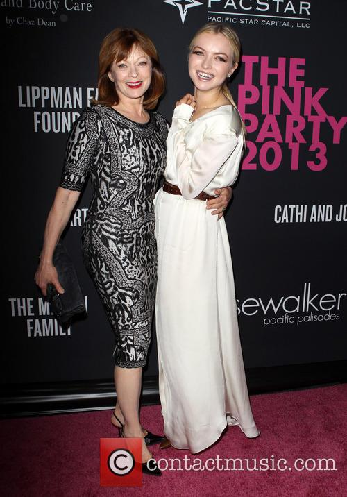 Picture - Frances Fisher and Francesca Eastwood at Barker ...