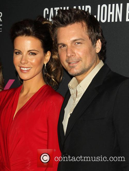 Kate Beckinsale and Len Wiseman 2