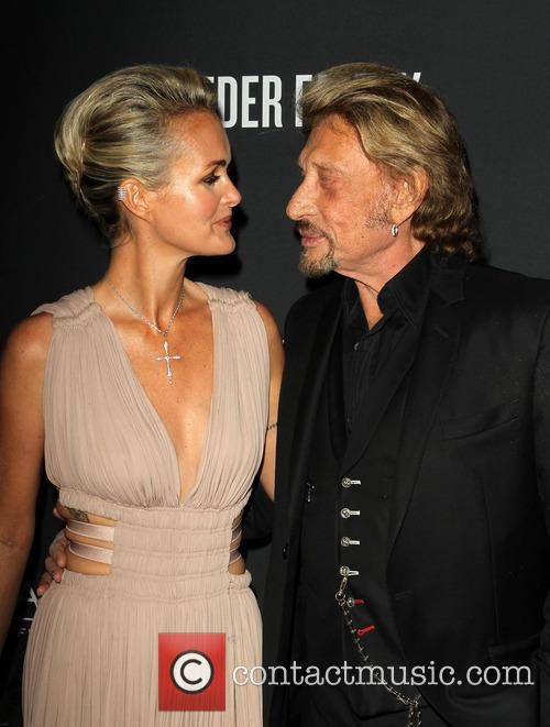Laeticia Hallyday and Johnny Hallyday 3