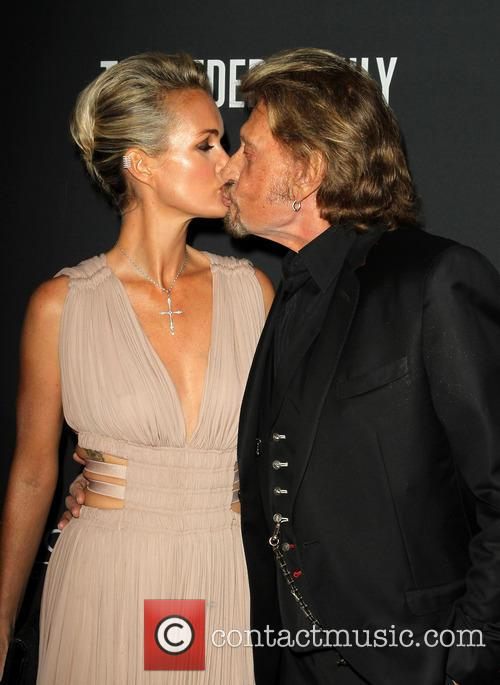 Laeticia Hallyday and Johnny Hallyday 7