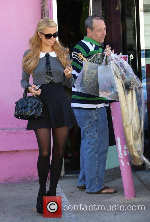 Paris Hilton and Guest 8