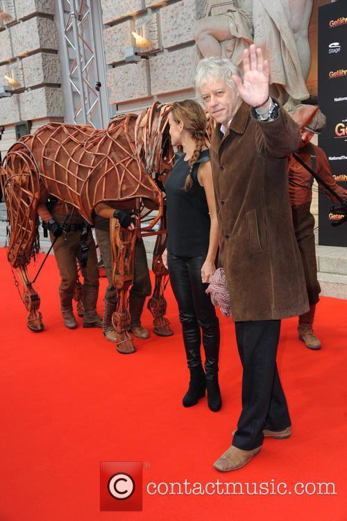 Sonja Kirchberger and Sir Bob Geldorf 10