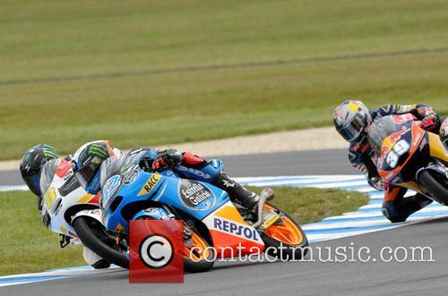 Alex Rins Leads Jack Miller Moto3 1