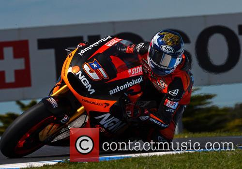 Colin Edwards Over Lukey Heights Mot Gp 2