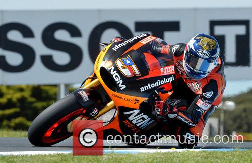 Colin Edwards Over Lukey Heights Mot Gp 1