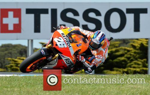 Dani Pedrosa 1 Moto  Gp 7