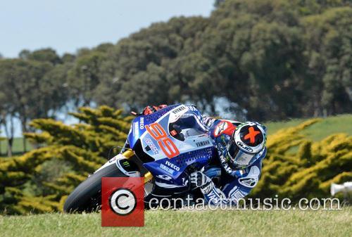 Jorge Lorenzo At Lukey Heights Moto Gp Phillip Island 10