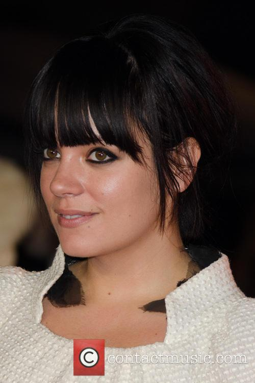 Lily Allen at the 'Saving Mr Banks' London premiere