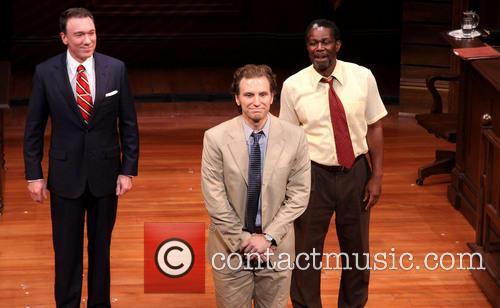 John Douglas, Patrick Page and Sebastian Arcelus
