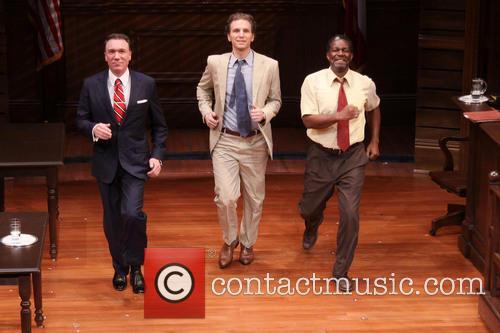 John Douglas, Patrick Page and Sebastian Arcelus 3