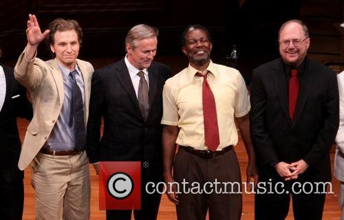 Sebastian Arcelus, John Grisham, John Douglas Thompson and Rupert Holmes 1