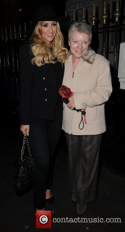 Catherine Tyldesley and Catherine's Mother Janet 8
