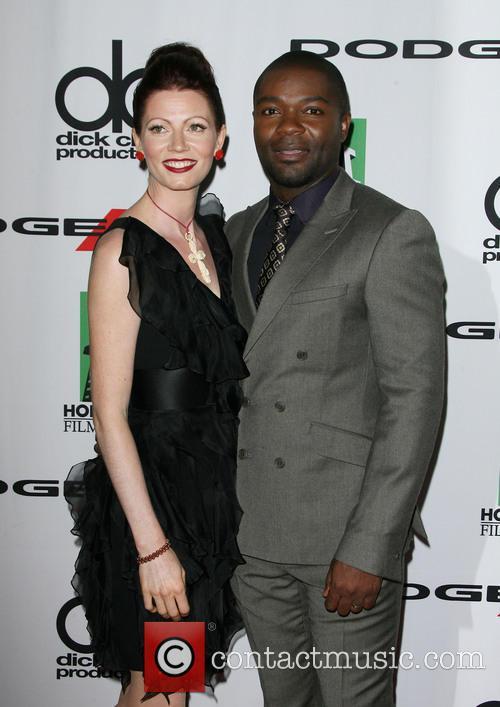David Oyelowo, wife Jessica Oyelowo, The Beverly Hilton Hotel, Hollywood Film Awards, Beverly Hilton Hotel