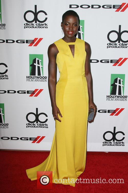 Lupita Nyong'o, The Beverly Hilton Hotel, Hollywood Film Awards, Beverly Hilton Hotel