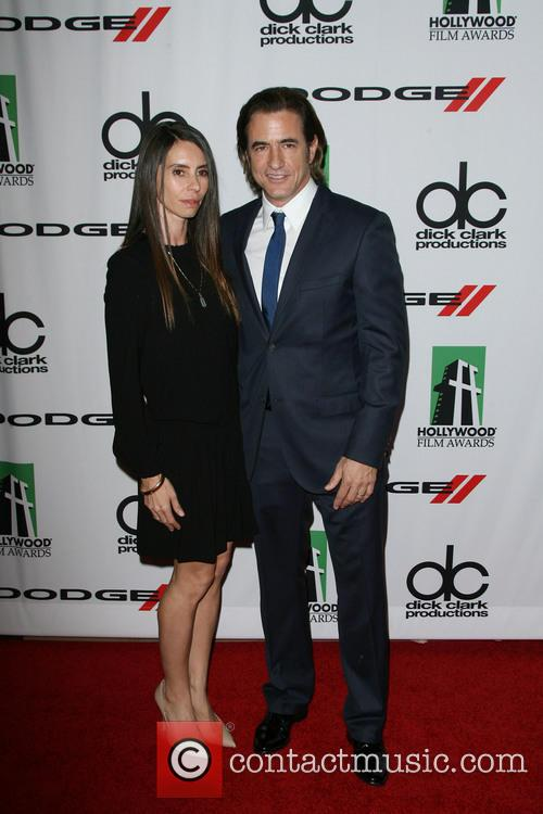 Tharita Catulle and Dermot Mulroney 2