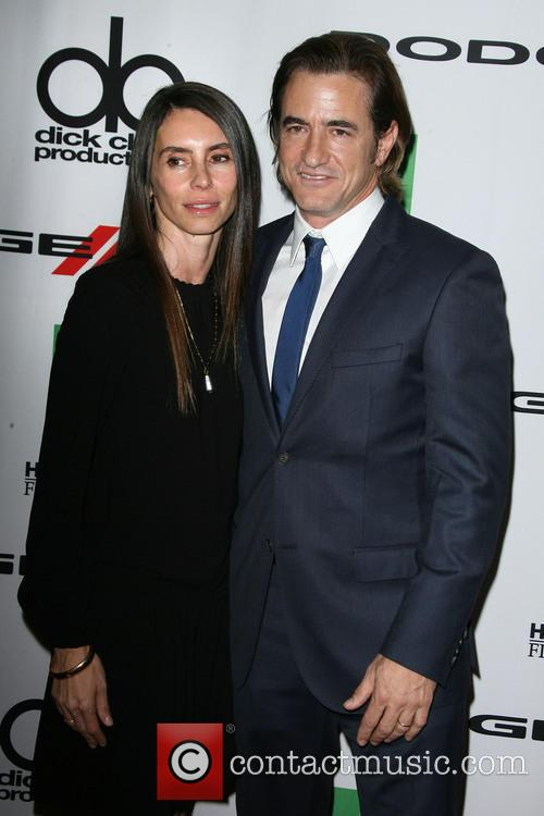 Tharita Catulle and Dermot Mulroney 3