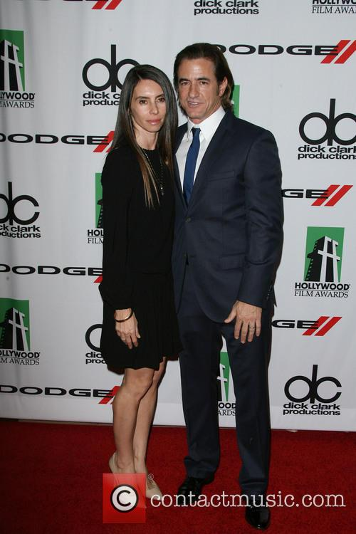 Tharita Catulle and Dermot Mulroney 1