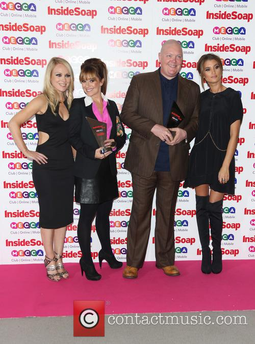 Michelle Hardwick, Dominic Brunt, Zoe Henry and Charley Webb 2