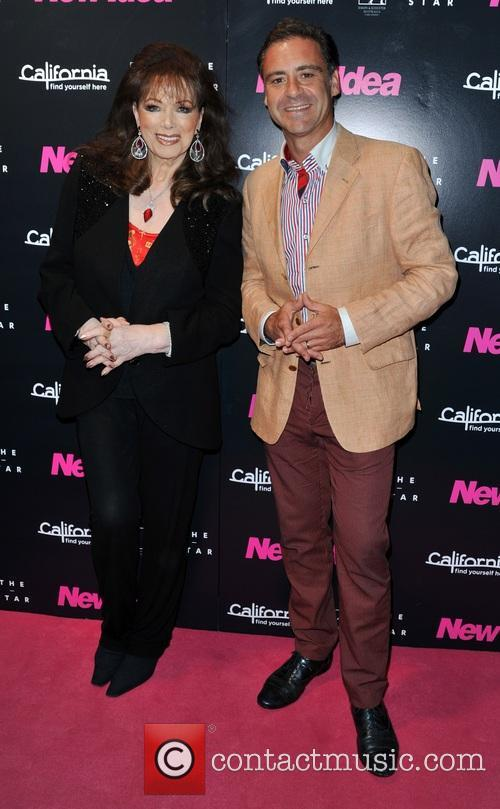 Jackie Collins and Andrew O'Keefe 1