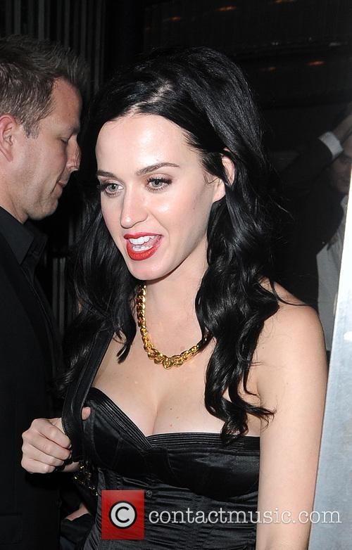 Katy Perry And John Mayer Leave Shoreditch House