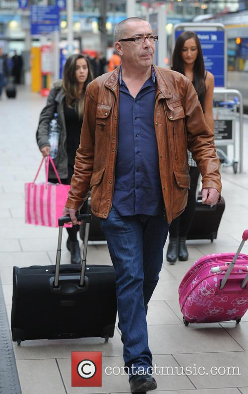 Celebrities at Manchester Piccadilly Train Station