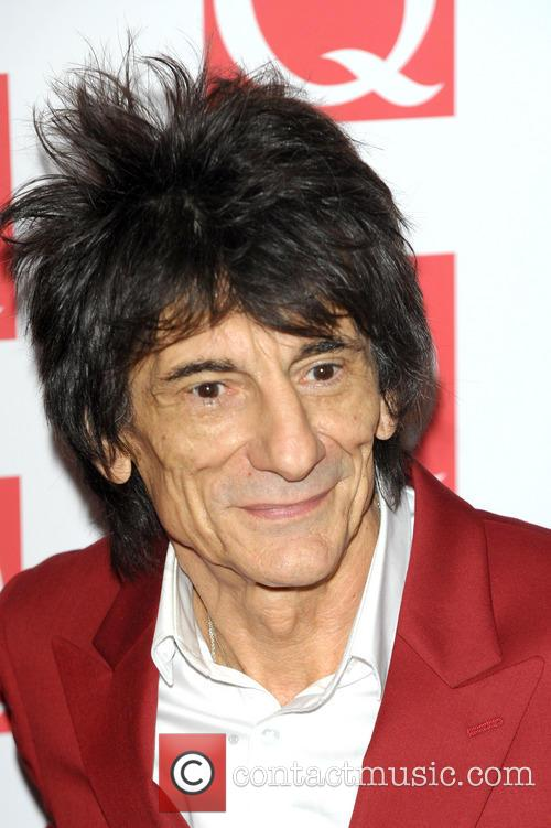 ronnie wood the q awards 2013 3916783