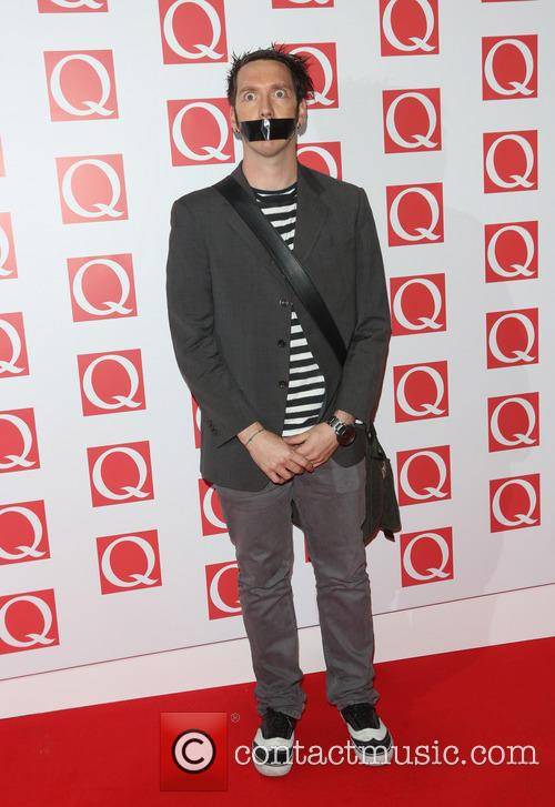 Sam Wills aka The Boy With Tape On His Face, The Q Awards, Grosvenor House