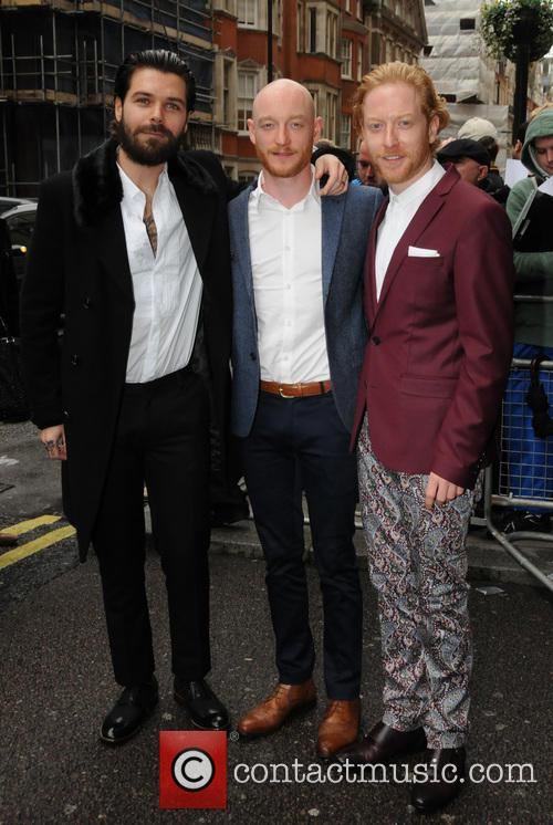 Simon Neil, James Johnstone, Ben Johnston and Biffy Clyro 2