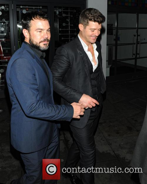 Robin Thicke and Guest 2
