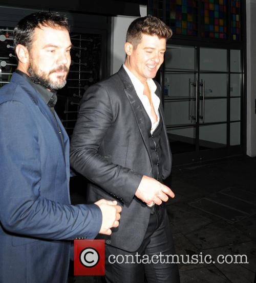 Robin Thicke and Guest 3