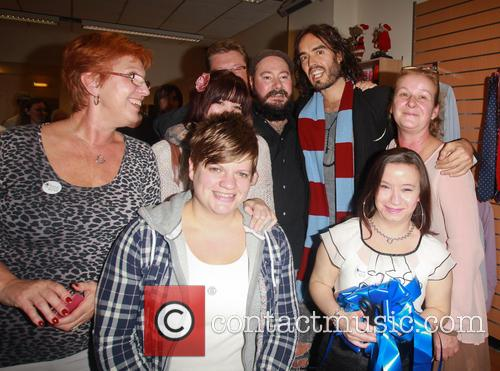 russell brand brand charity shop opening 3916142