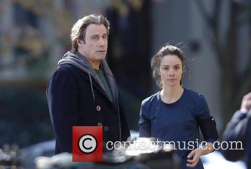 John Travolta and Abigail Spencer 4