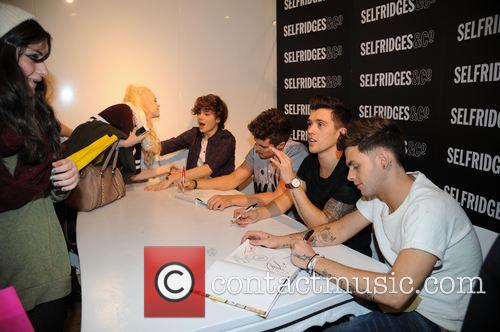 Union J, Selfridges