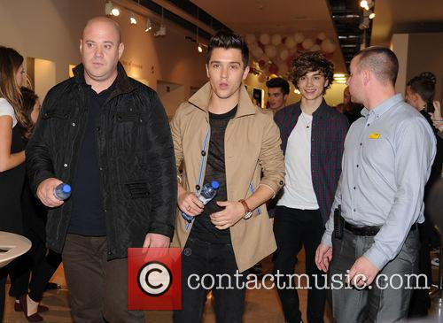 Union J Signing Selfridges Trafford Centre Manchester